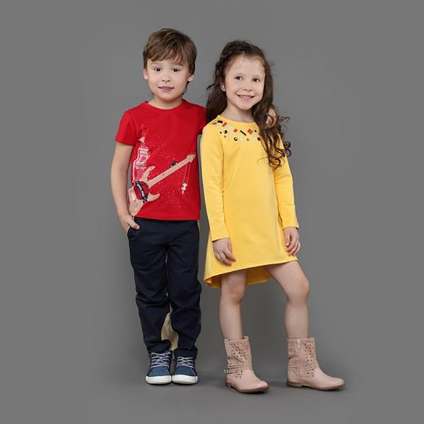 Детская одежда линейками